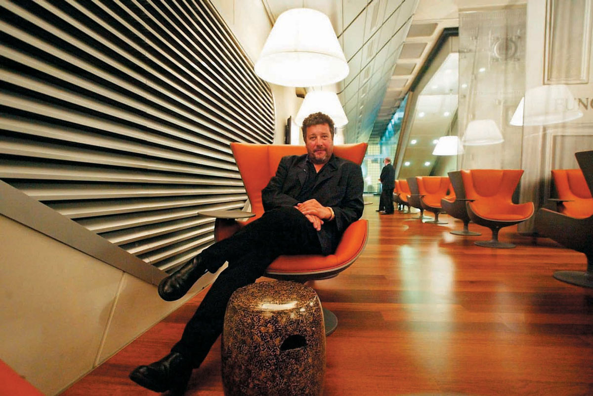philippe starck speaks his mind yachts international. Black Bedroom Furniture Sets. Home Design Ideas