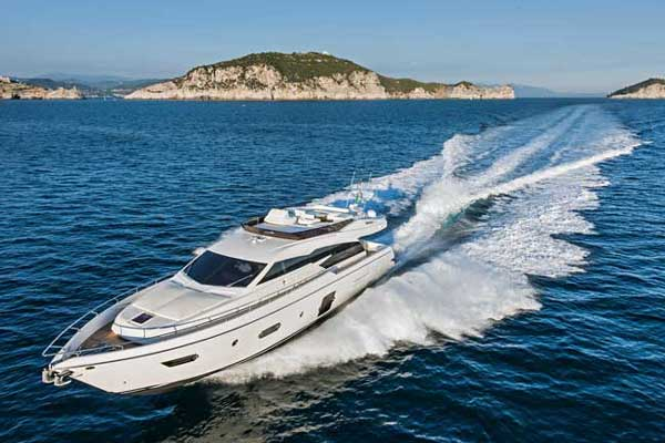 Ferretti designed its new 750 with options that broaden its appeal on the world stage.