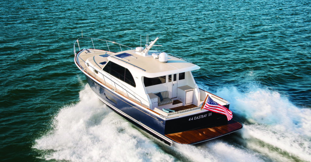 Even successful boat models sometimes call for the occasional update. In the case of the 44 Eastbay SX, Grand Banks launches a reimagined version of its classic Downeaster.